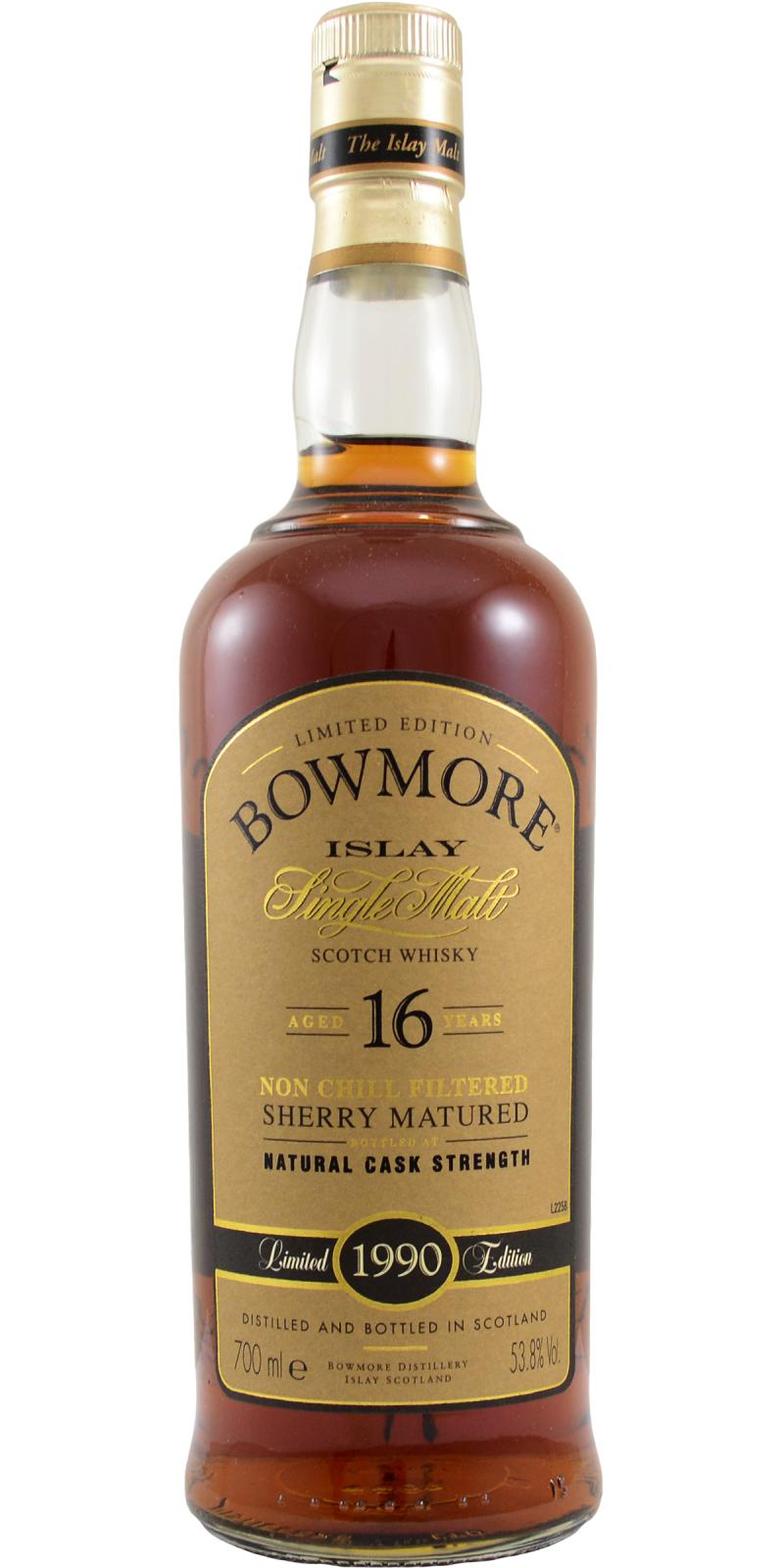 Bowmore 1990 Sherry Matured