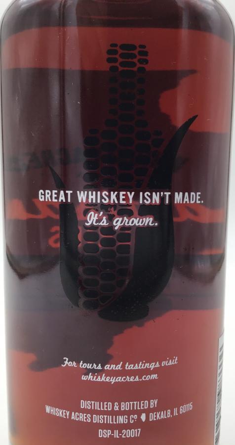 Whiskey Acres Distilling Co. Artisan Series