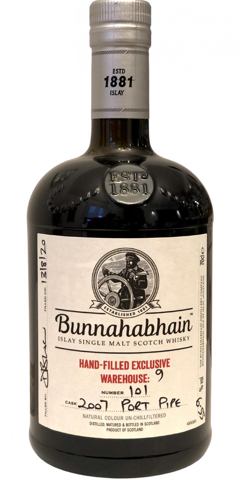 Bunnahabhain 2007