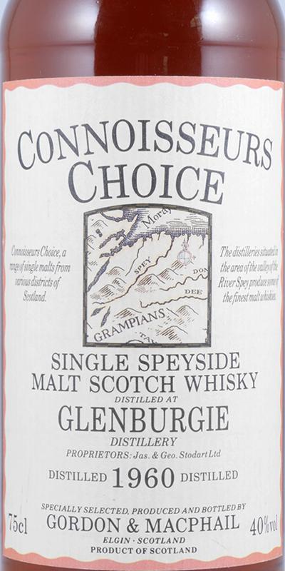 Glenburgie 1960 GM
