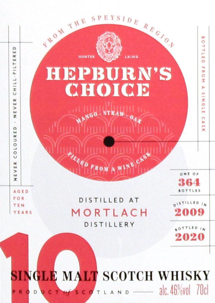 Mortlach 2009 HL