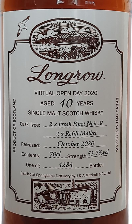 Longrow 10-year-old