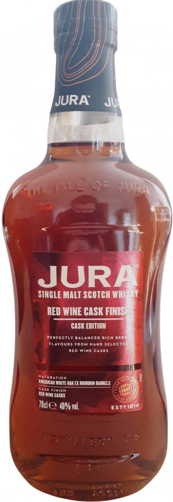 Isle of Jura Red Wine Cask Finish