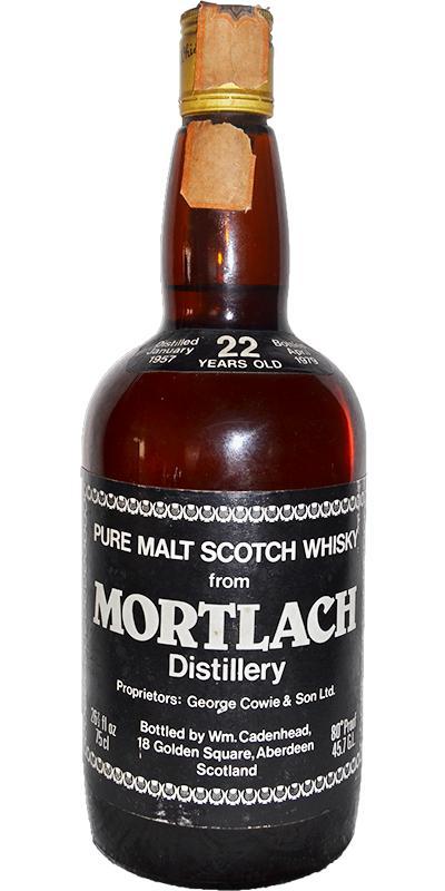Mortlach 1957 CA
