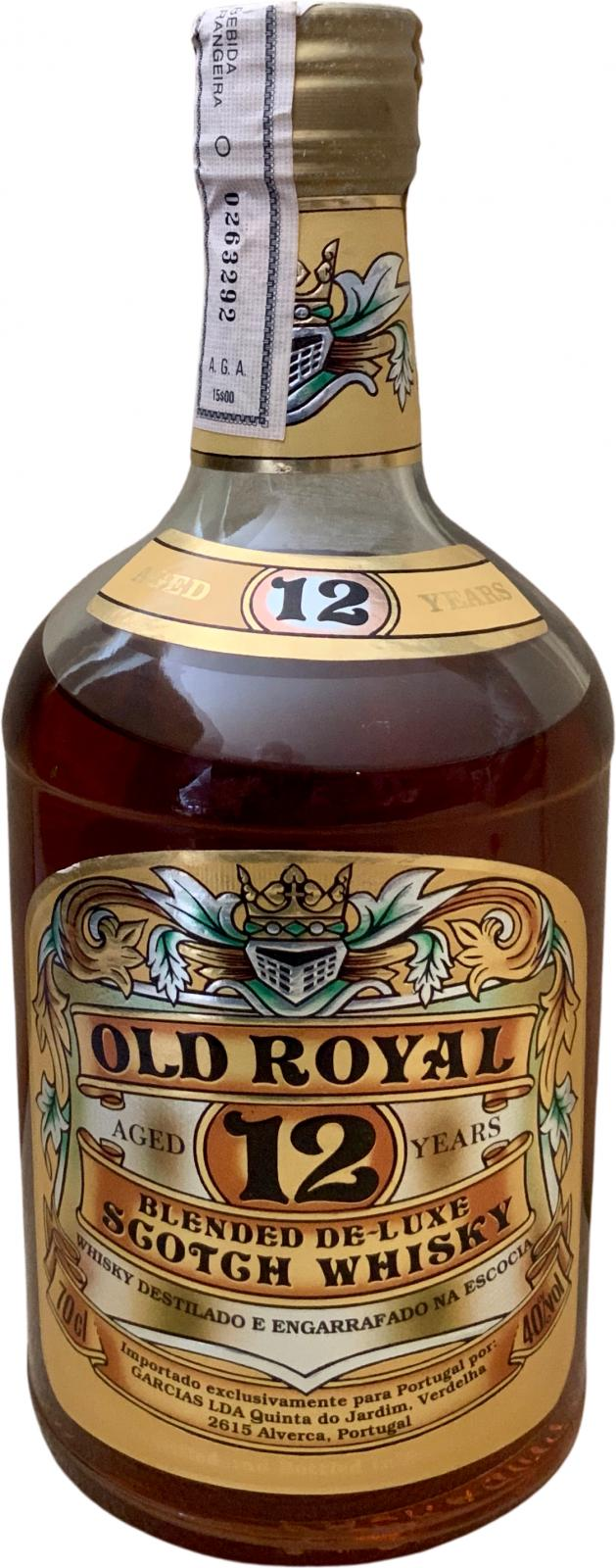 Old Royal 12-year-old BMcK