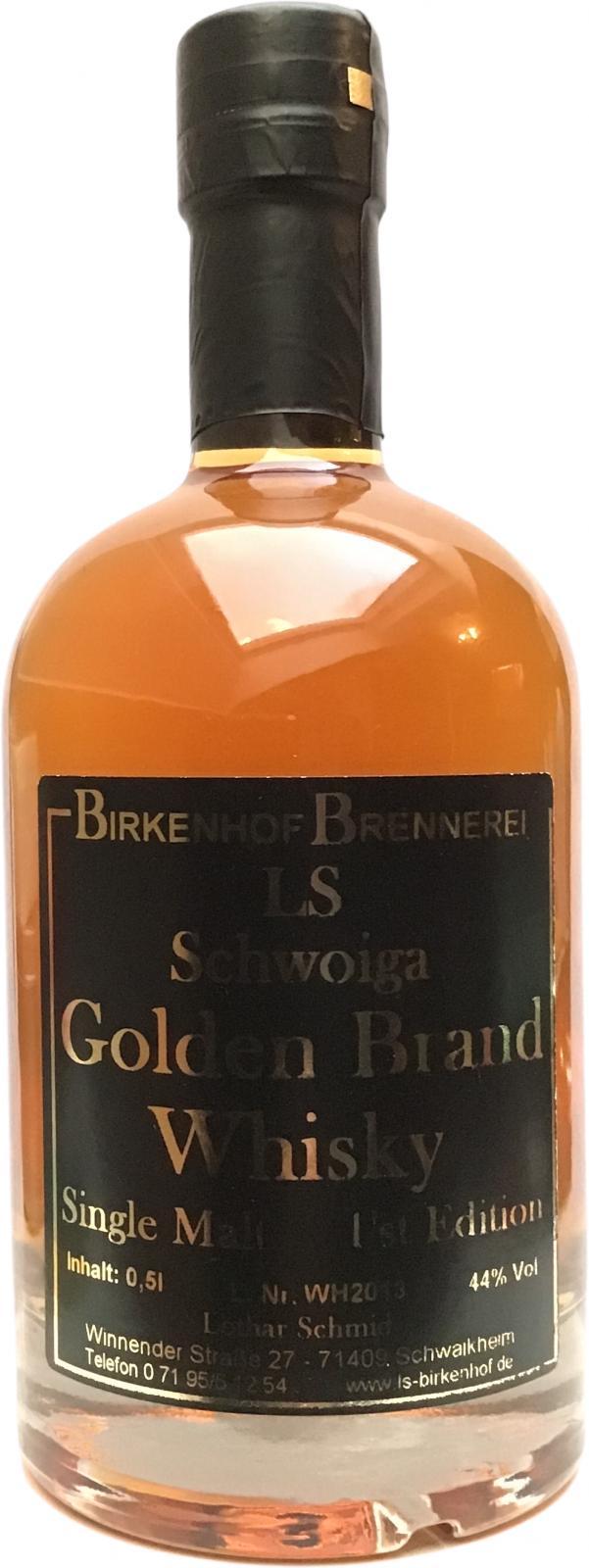 LS Schwoiga Golden Brand Whisky