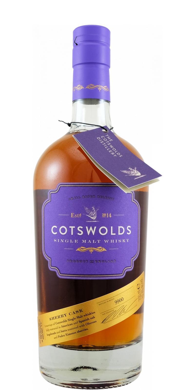 Cotswolds Distillery Sherry Cask