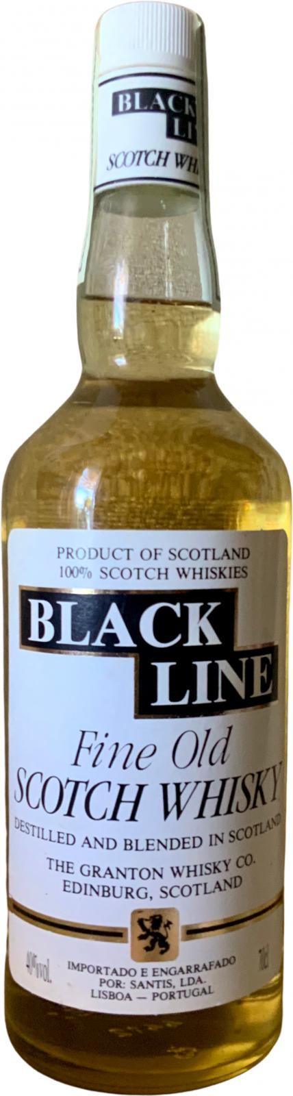 Black Line Fine Old Scotch Whisky