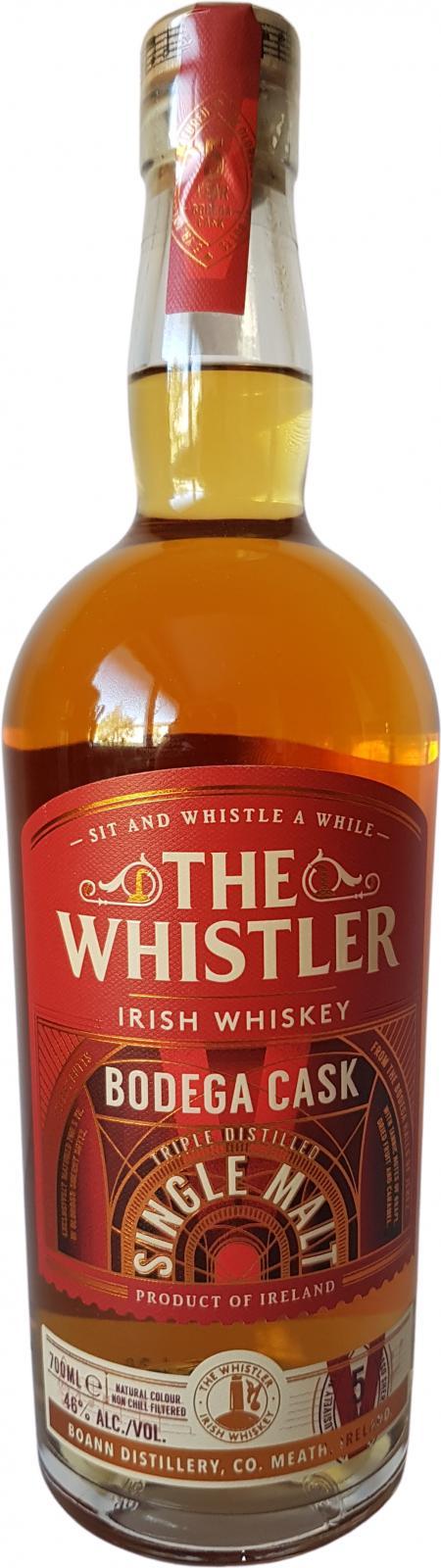 The Whistler Bodega Cask BoD