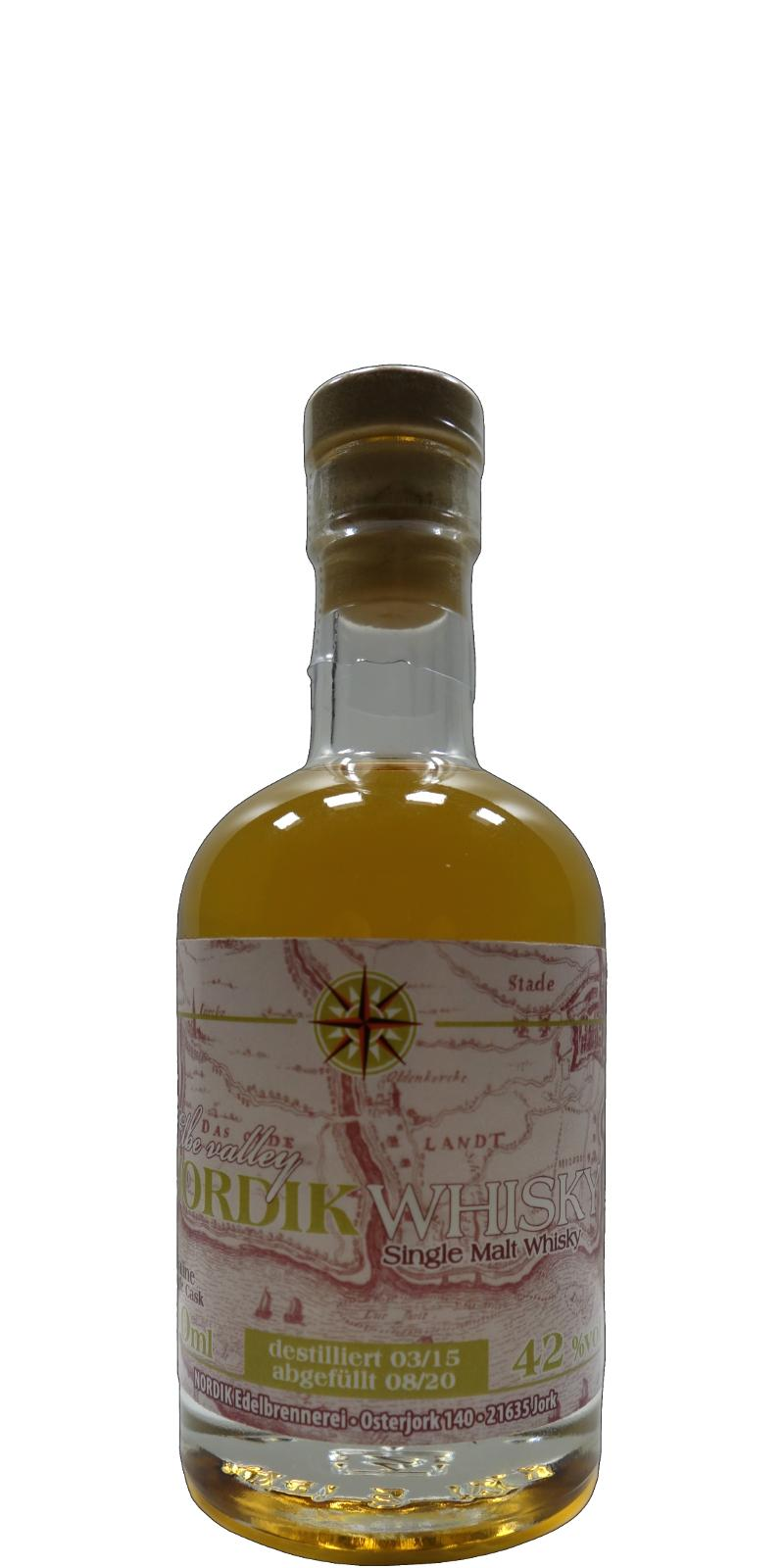 Elbe-Valley NORDIK Whisky 2015