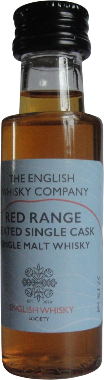 The English Whisky Red Range TDT