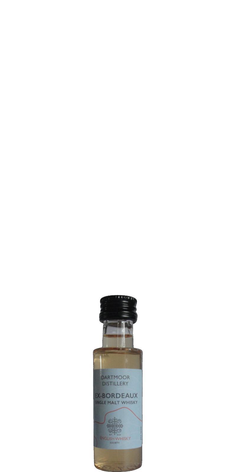 Dartmoor Whisky Ex-Bordeaux TDT