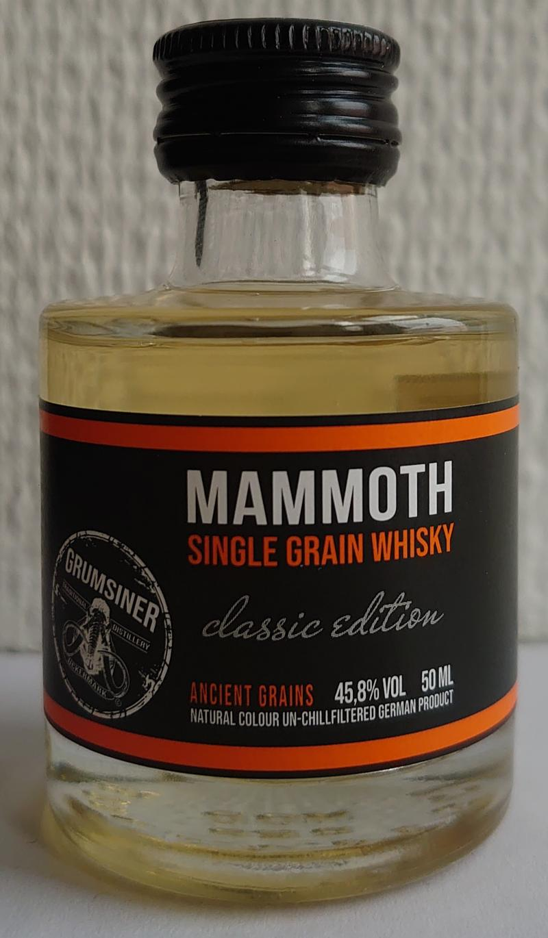 Mammoth Single Grain Whisky