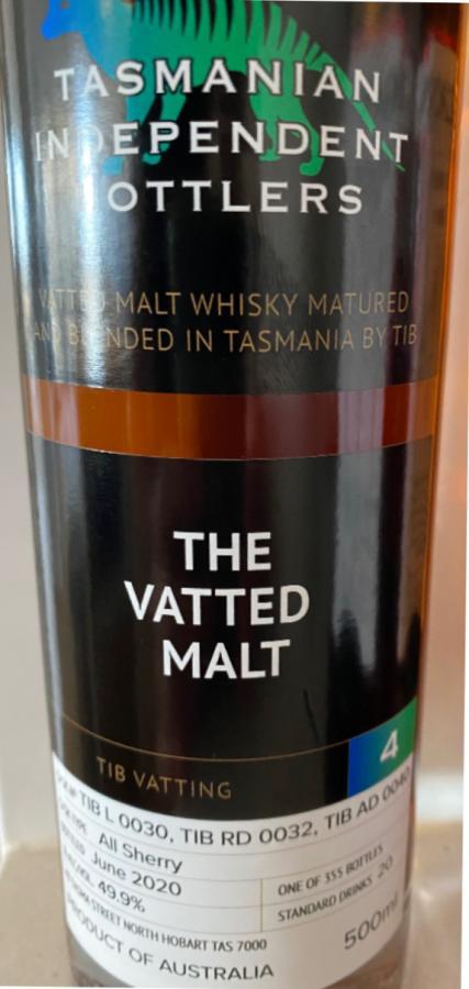 Tasmanian Independent Bottlers The Vatted Malt [4] TmIB