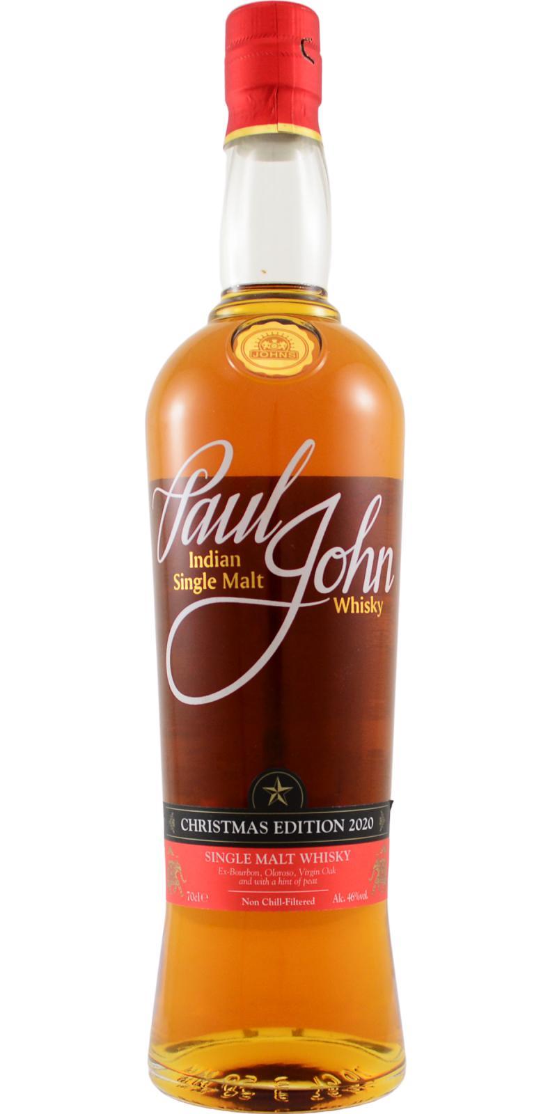 Paul John Christmas Edition 2020