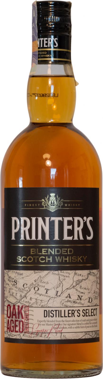 Printer's Distiller's Select