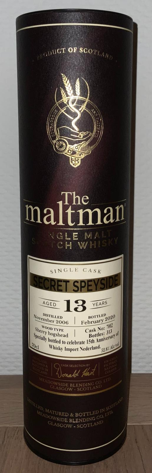 Secret Speyside Distillery 2006 MBl