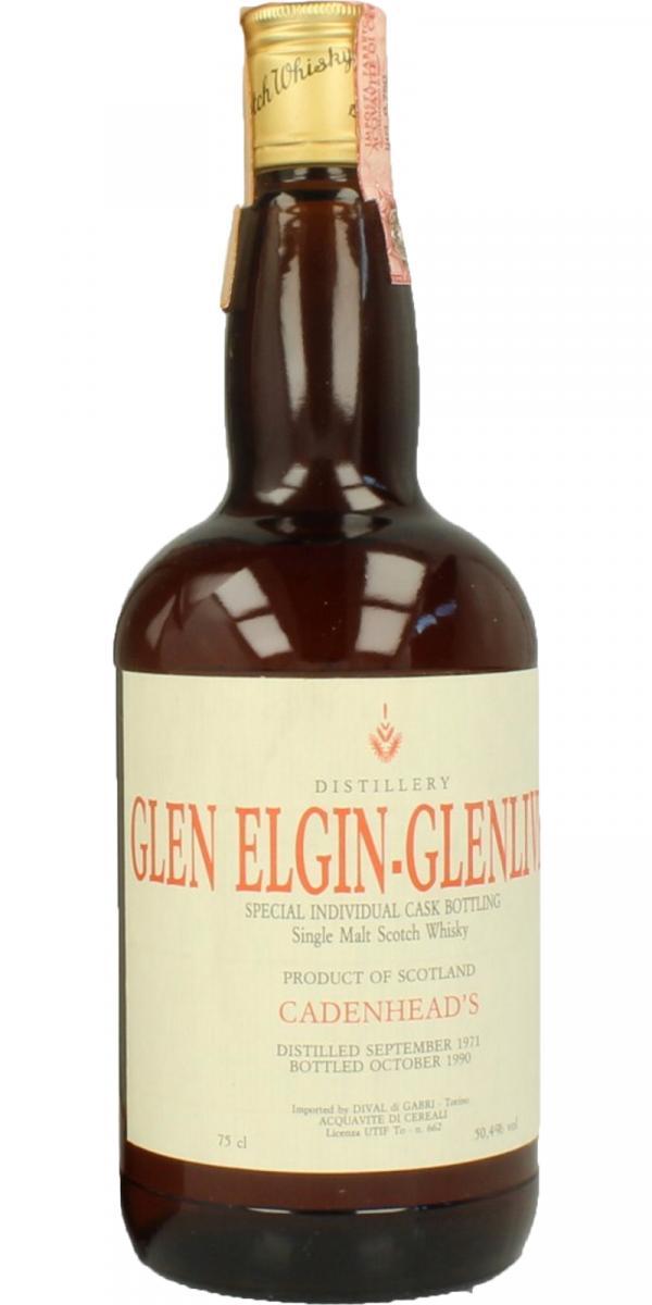 Glen Elgin 1971 CA