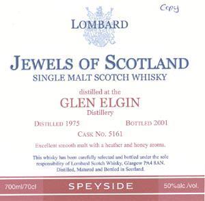 Glen Elgin 1975 Lb