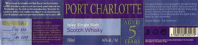 Port Charlotte 2001 Al