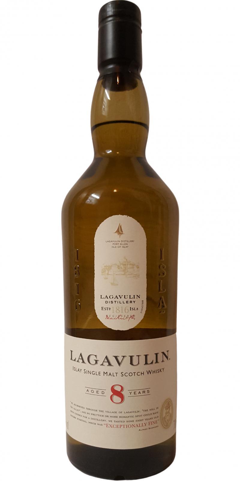 Lagavulin 08-year-old