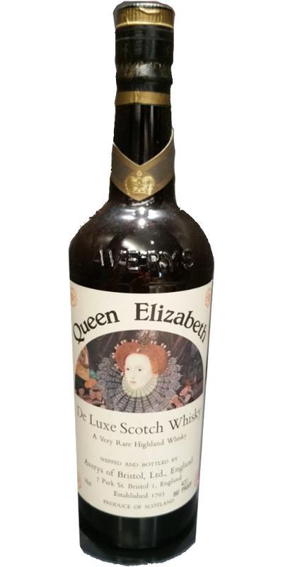 Queen Elizabeth De Luxe Scotch Whisky