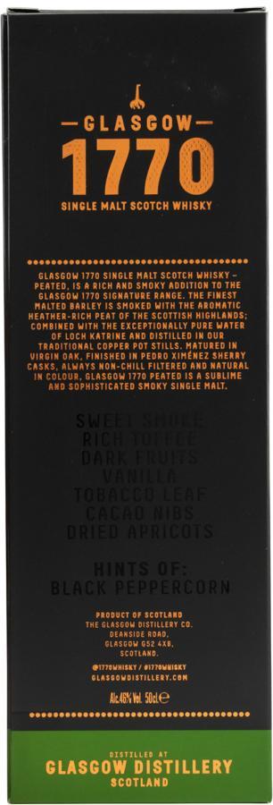 1770 Glasgow Single Malt - Peated