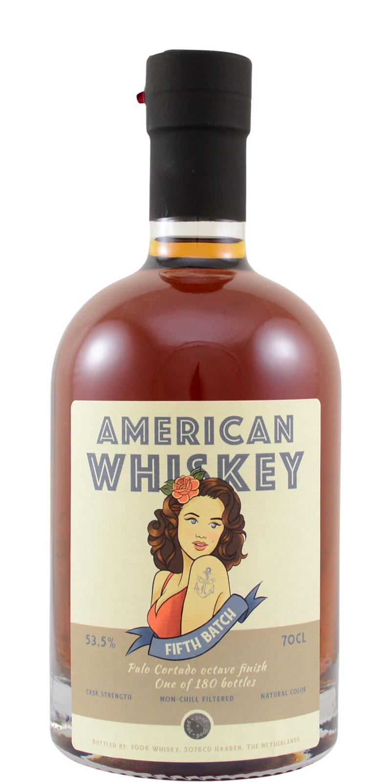 American Whiskey 5th Batch 3W