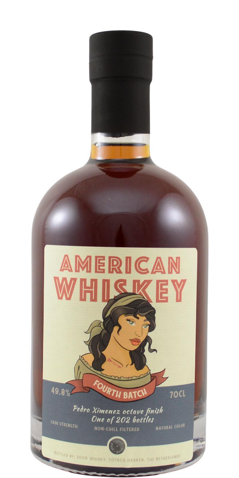 American Whiskey 4th Batch 3W
