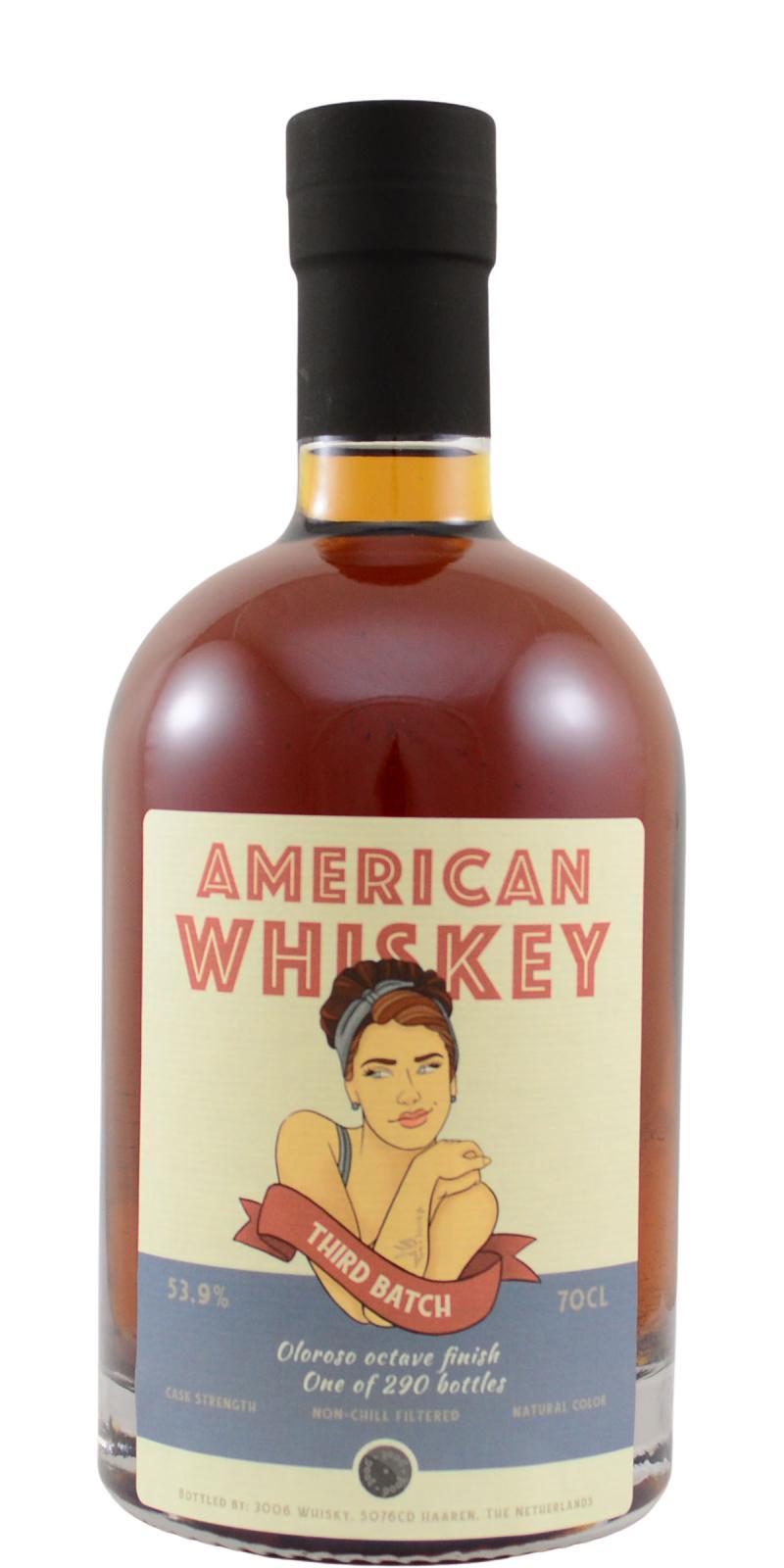 American Whiskey 3rd Batch 3W