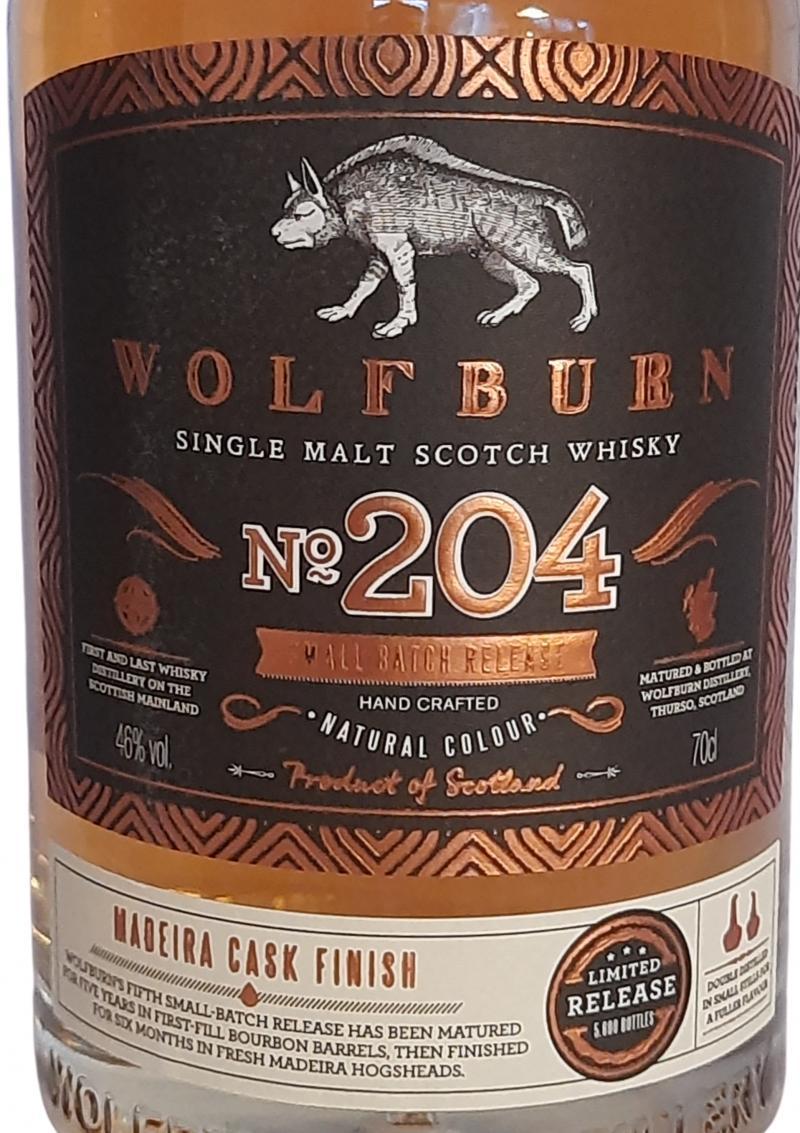 Wolfburn No. 204