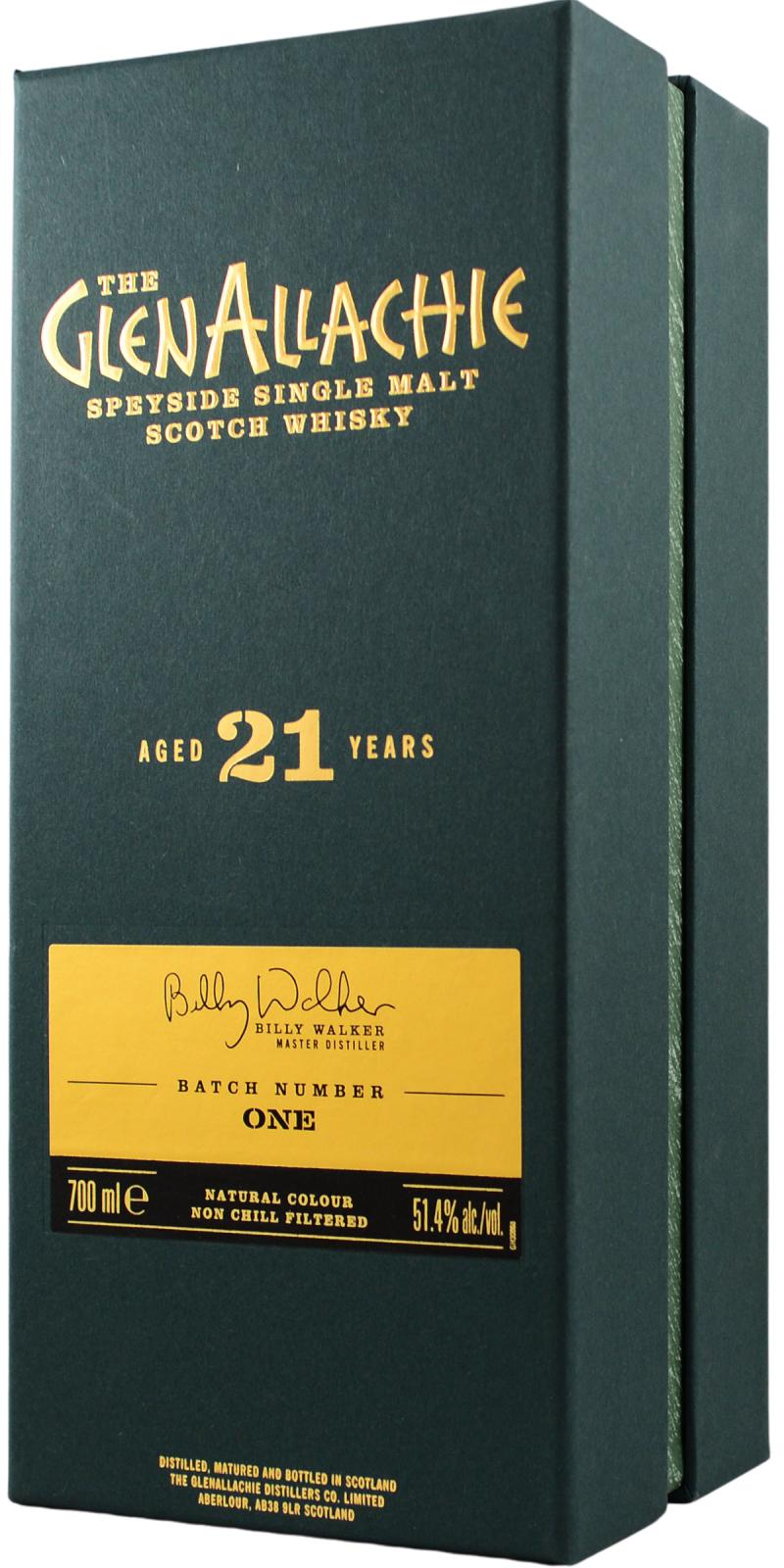 Glenallachie 21-year-old