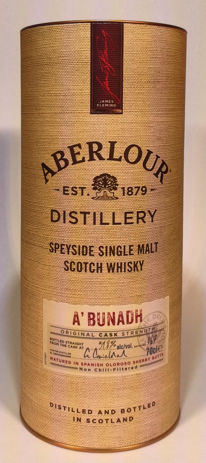 Aberlour A'bunadh batch #67