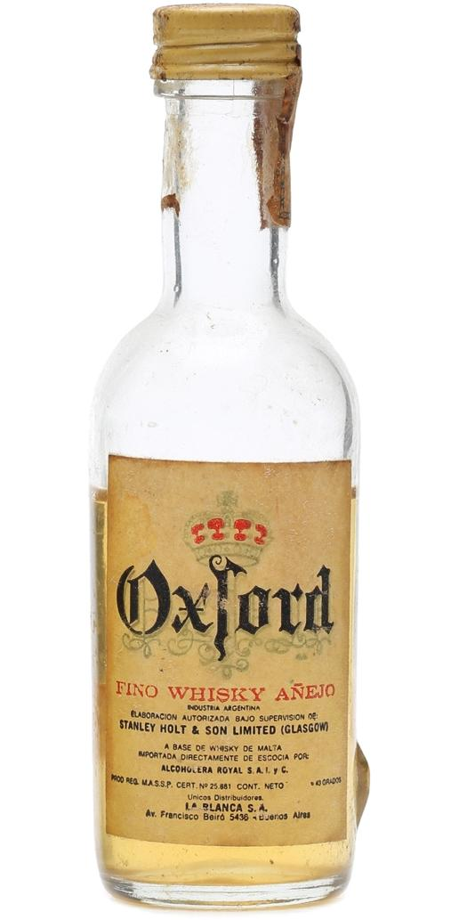 Oxford Fino Whisky Añejo