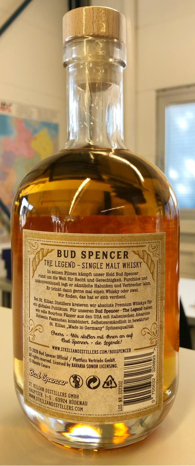 St. Kilian Bud Spencer - The Legend