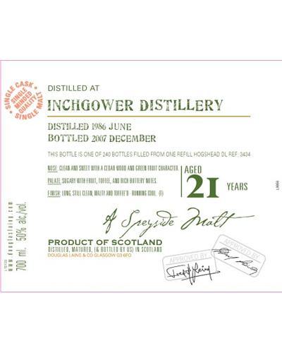 Inchgower 1986 DL