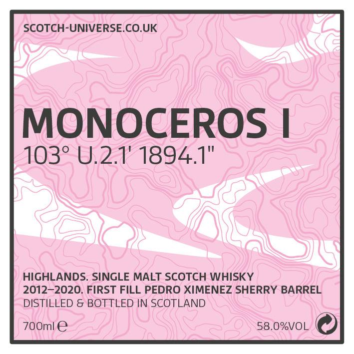 Scotch Universe Monoceros I  103° U.2.1' 1894.1""