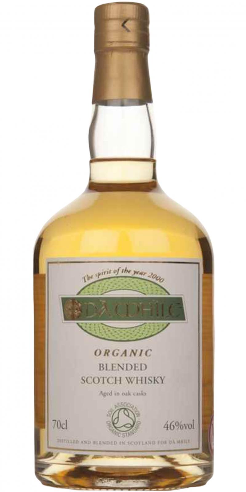 Dà Mhìle Organic Blended Scotch Whisky