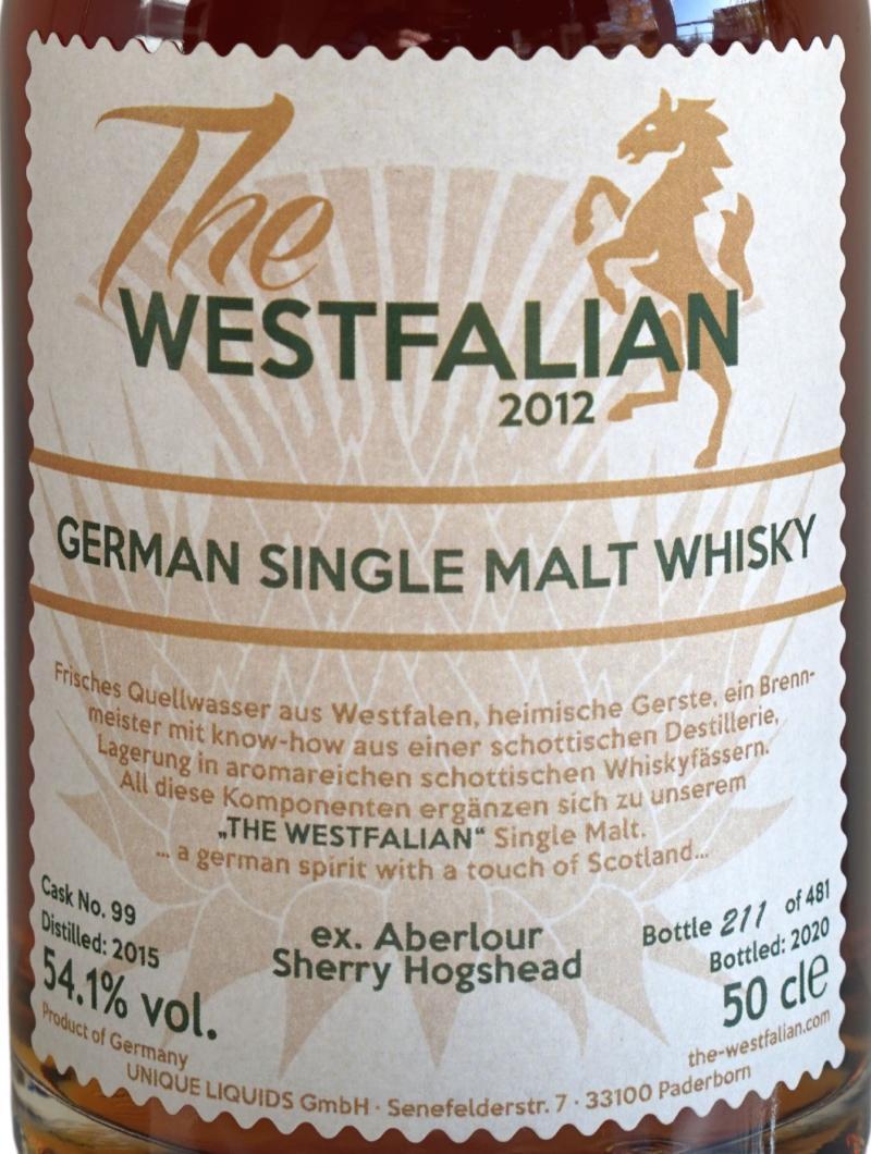 The Westfalian 2015