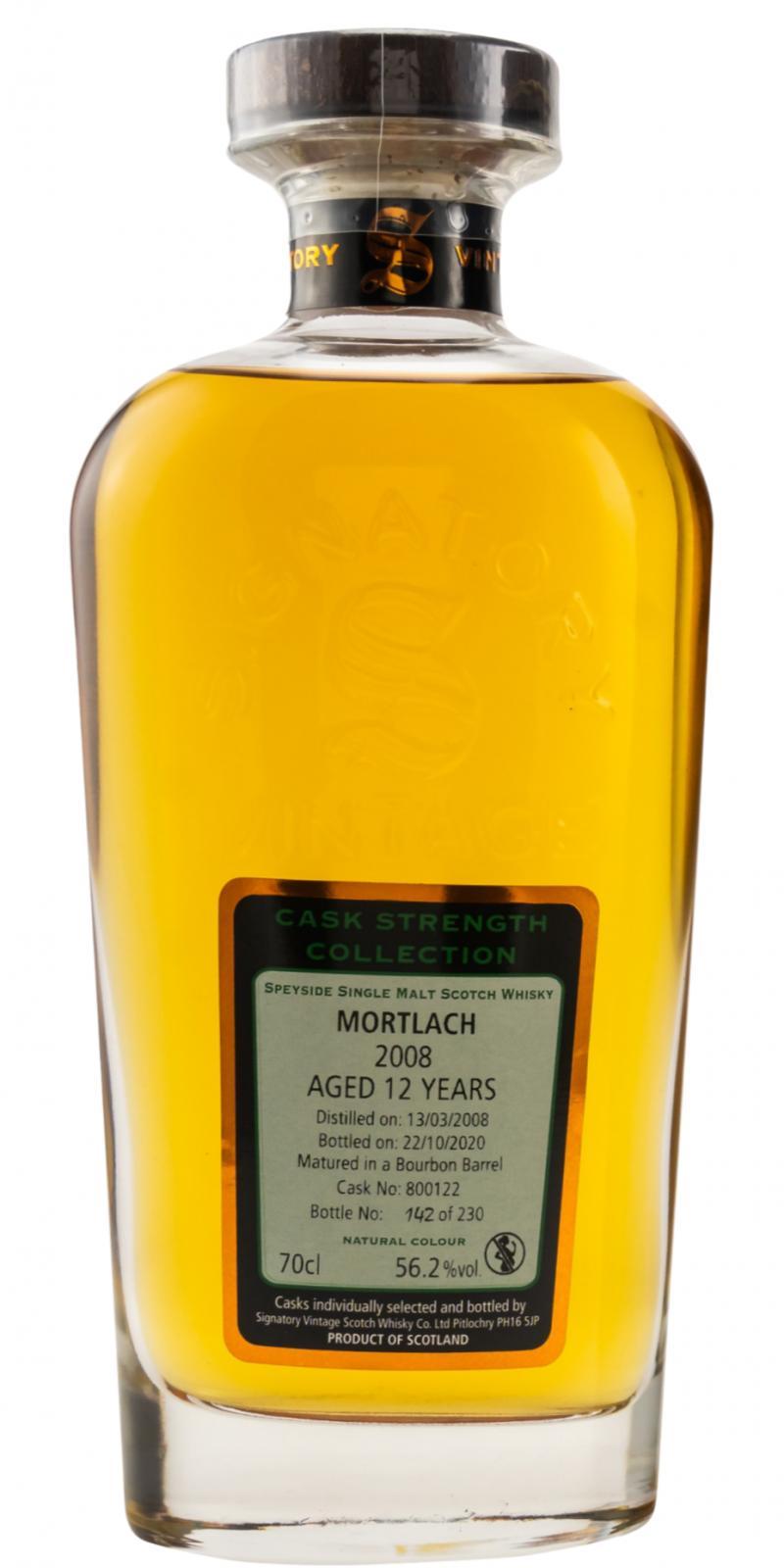 Mortlach 2008 SV