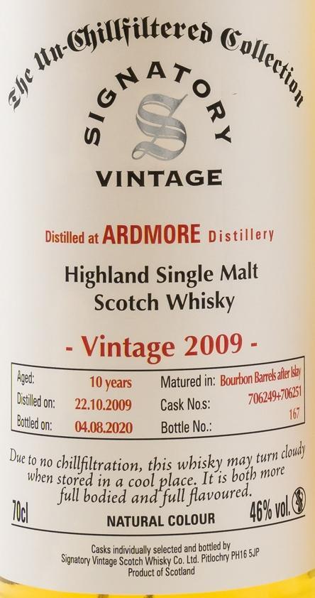 Ardmore 2009 SV