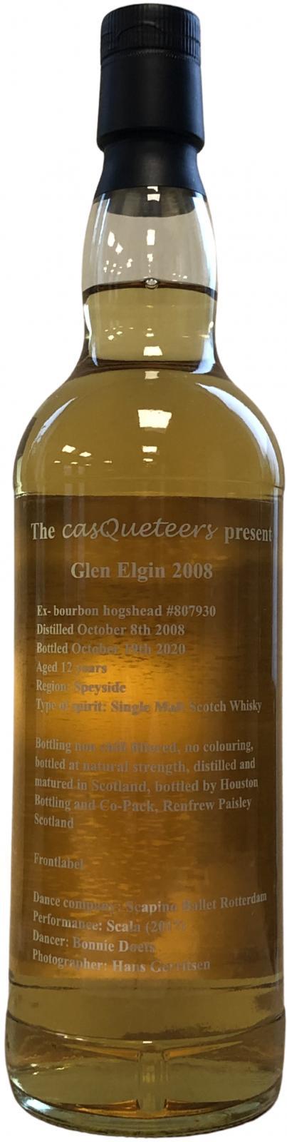 Glen Elgin 2008 cQs