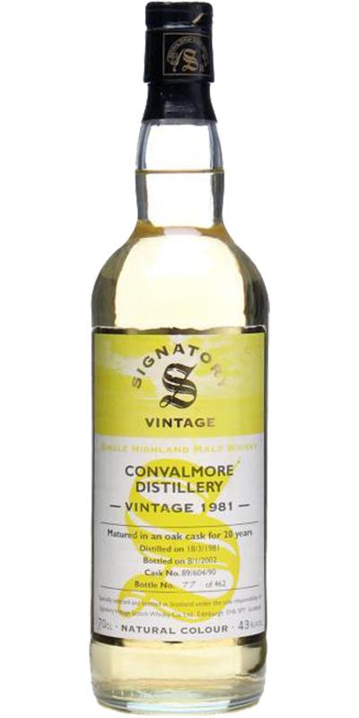 Convalmore 1981 SV