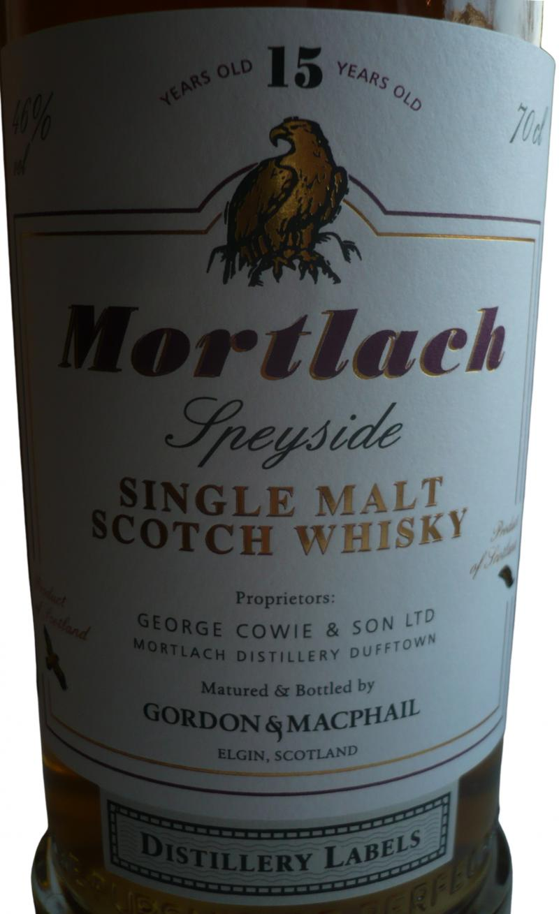 Mortlach 15-year-old GM