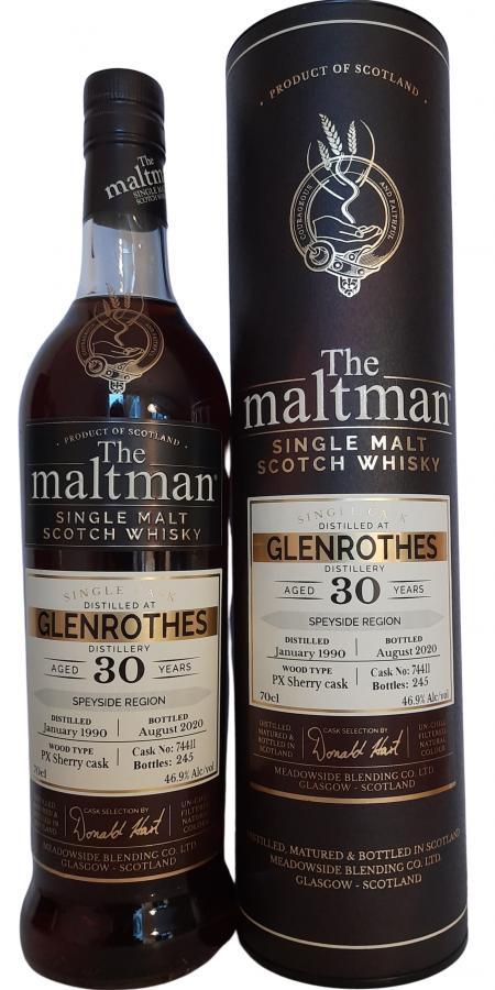 Glenrothes 1990 MBl