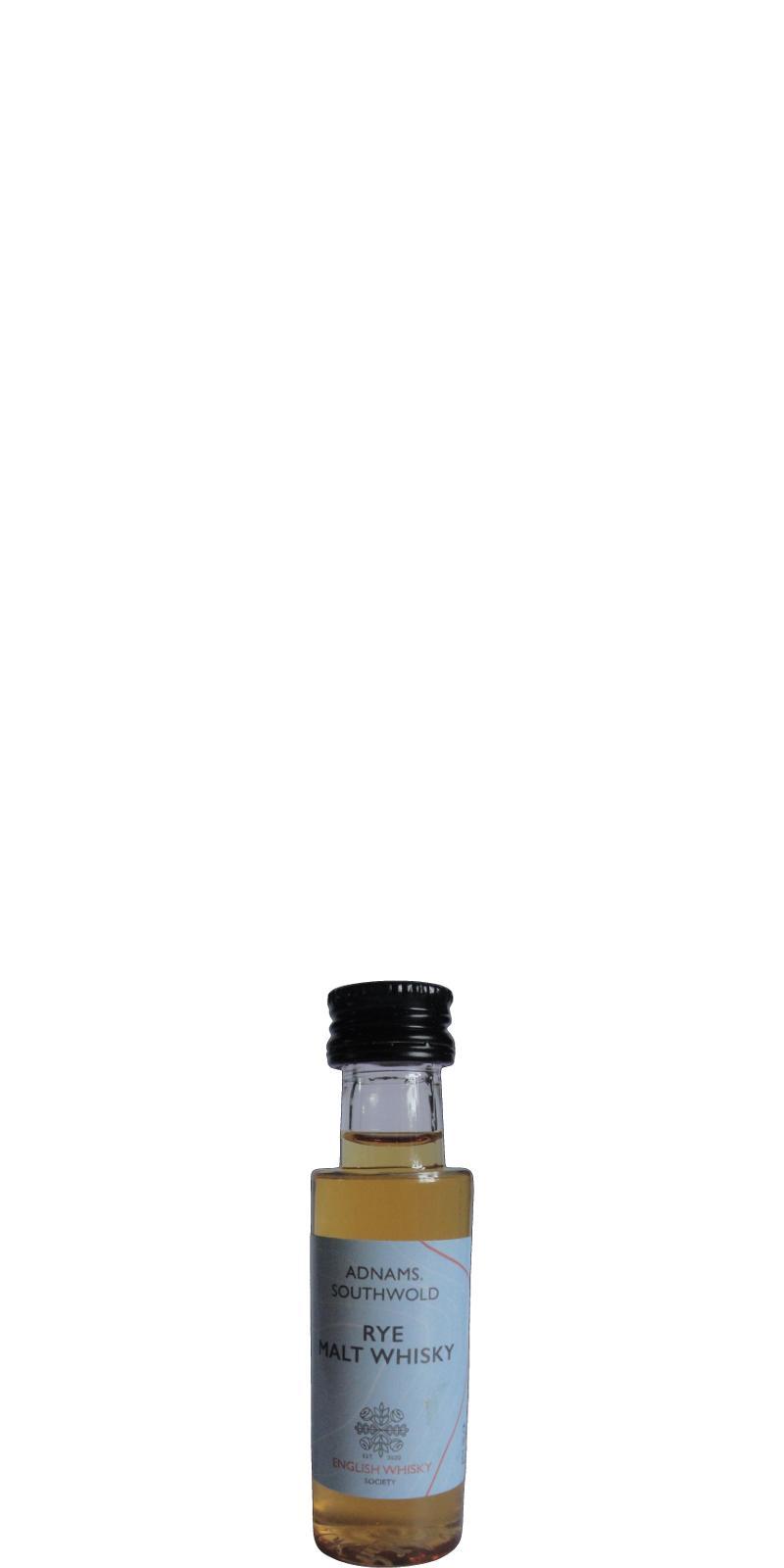 Adnams Rye Malt Whisky TDT