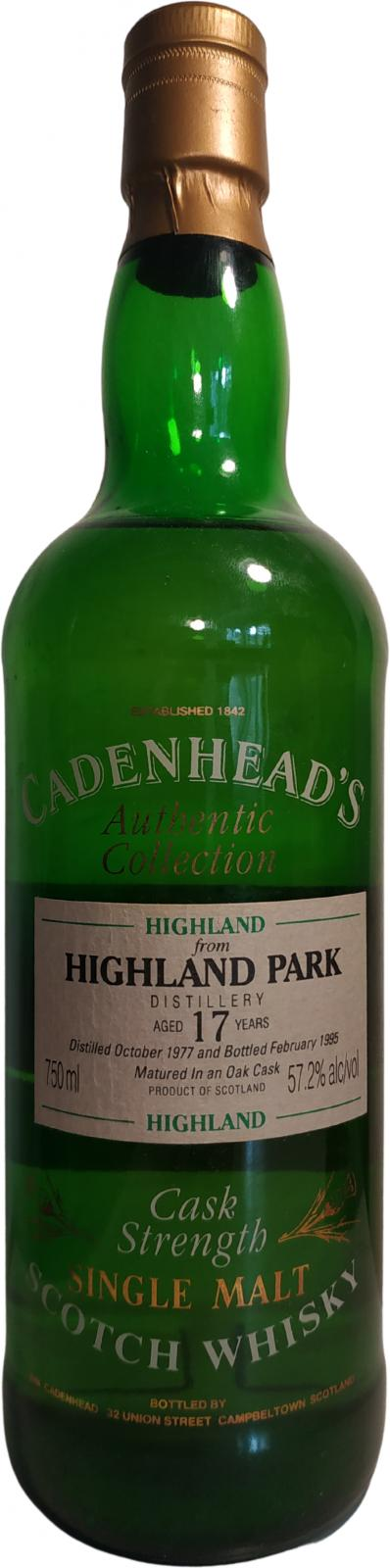 Highland Park 1977 CA