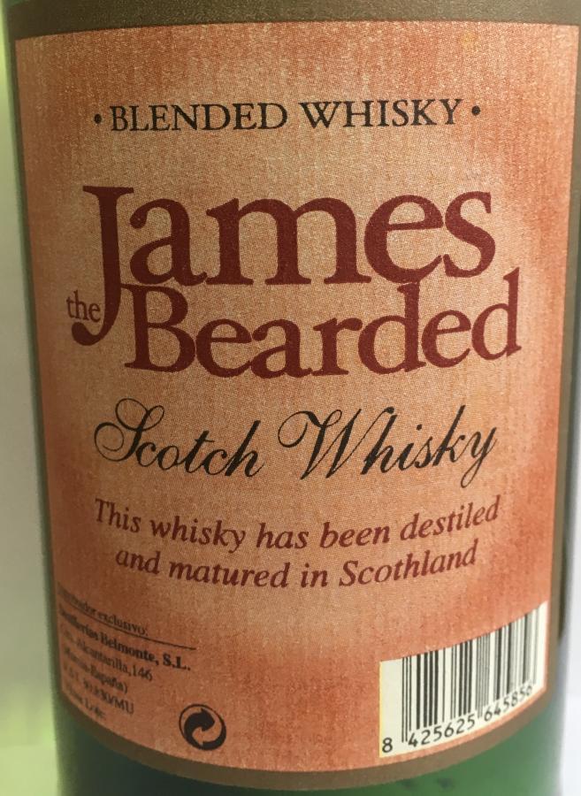 James Bearded Scotch Whisky