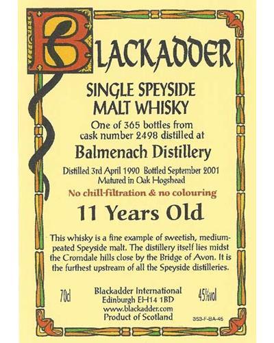 Balmenach 1990 BA