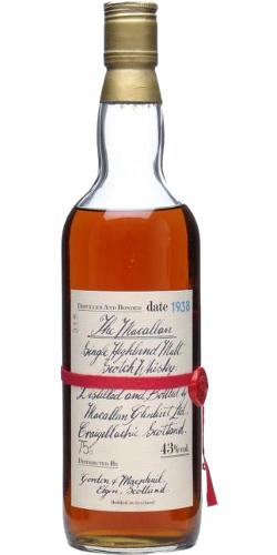 Macallan 1938